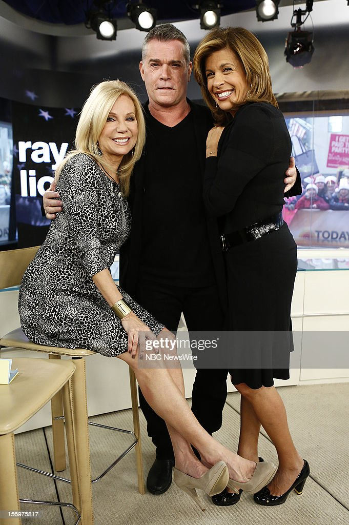 Kathie Lee Gifford, Ray Liotta and Hoda Kotb appear on NBC News' 'Today' show --