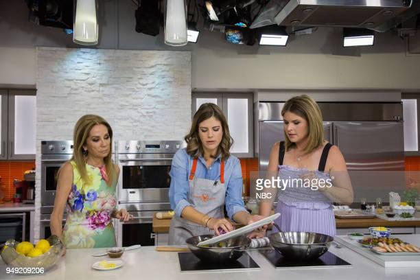 Kathie Lee Gifford Siri Daly and Jenna Bush Hager on Friday April 20 2018