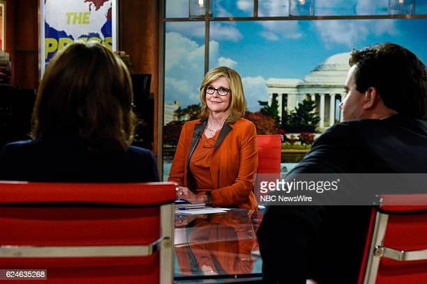 Kathleen Parker Columnist The Washington Post appears on Meet the Press in Washington DC Sunday Nov 20 2016