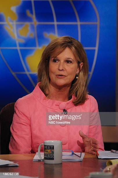 Kathleen Parker Syndicated Washington Post Columnist appears on Meet the Press in Washington DC Sunday April 11 2010