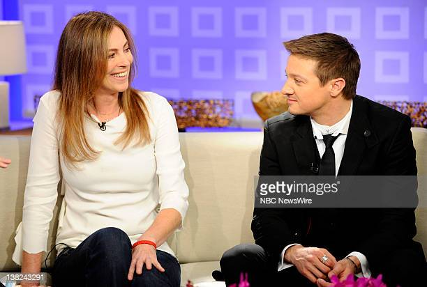 Kathryn Bigelow and Jeremy Renner appear on NBC News' Today show