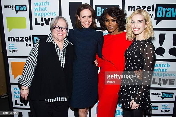 Kathy Bates Sarah Paulson Angela Bassett and Emma Roberts