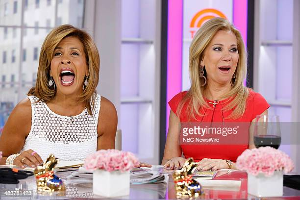 Kathy Lee Gifford and Hoda Kotb appear on NBC News' Today show