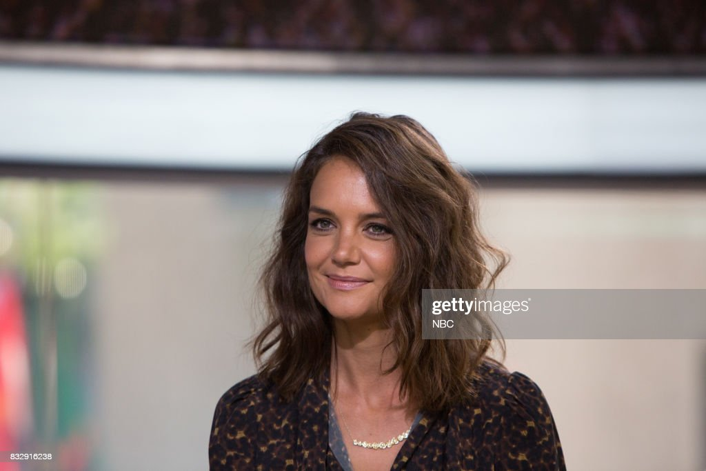 Katie Holmes on Wednesday, August 16, 2017 --