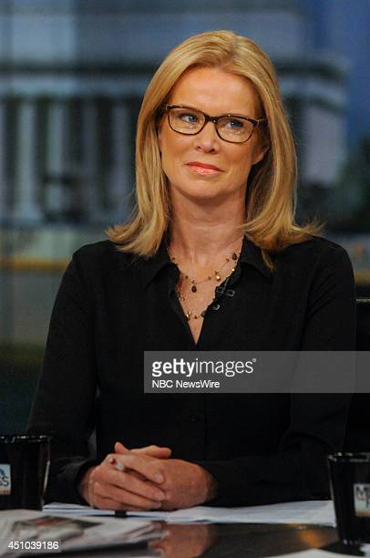 Katty Kay Anchor BBC World News America appears on Meet the Press in Washington DC Sunday June 22 2014