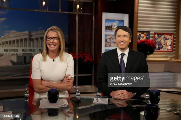 Katty Kay and Rich Lowry appear on Meet the Press in Washington DC Sunday Dec 31 2017