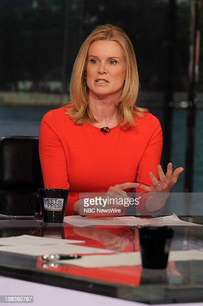 Katty Kay The BBC appears on Meet the Press in Washington DC Sunday May 8 2011