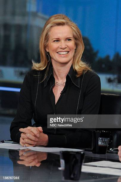 Katty Kay The BBC appears on Meet the Press in Washington DC Sunday June 26 2011