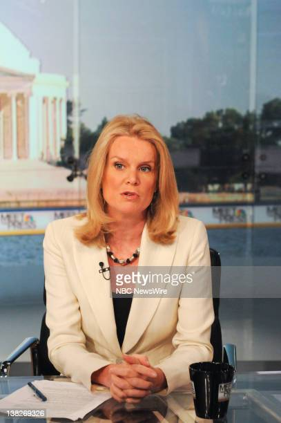 Katty Kay Washington Correspondent BBC World News America appears on Meet the Press in Washington DC Sunday April 9 2010