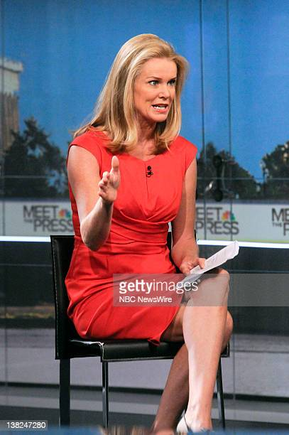 Katty Kay Washington Correspondent BBC World News appears on Meet the Press in Washington DC Sunday Oct 16 2011