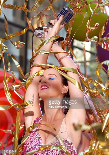 """Katy Perry performs on NBC News' """"Today"""" show"""