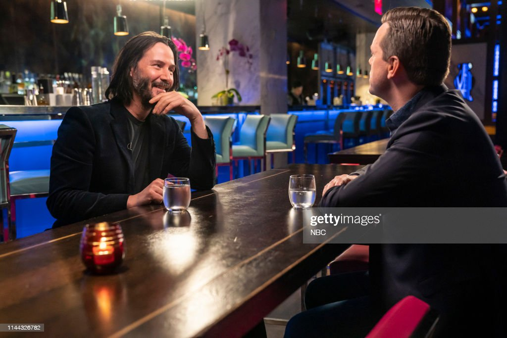 "NY: NBC's ""Sunday TODAY with Willie Geist"" with Keanu Reeves"