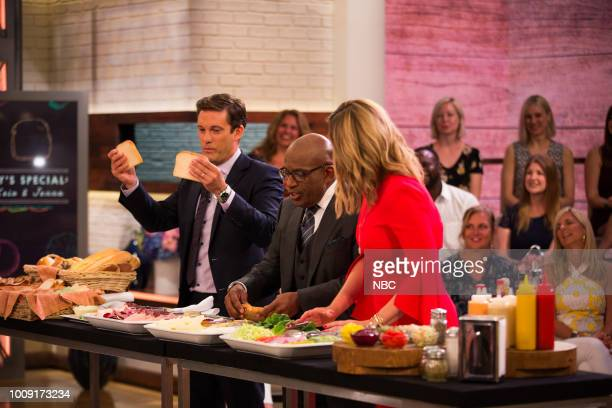 Kyle Dickman Al Roker and Jenna Bush Hager on Wednesday Auguest 1 2018