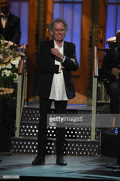 Keith Richards on February 15 2015