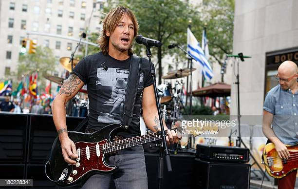 Keith Urban appears on NBC News' Today show