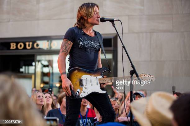 Keith Urban on Thursday August 2 2018