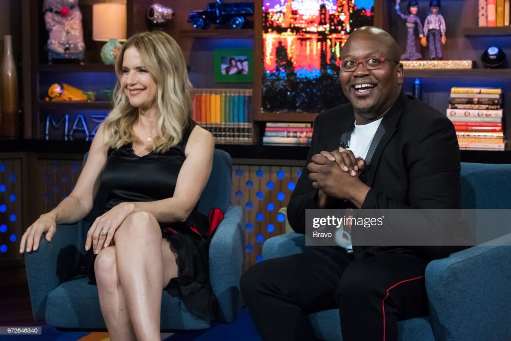Kelly Preston and Tituss Burgess --