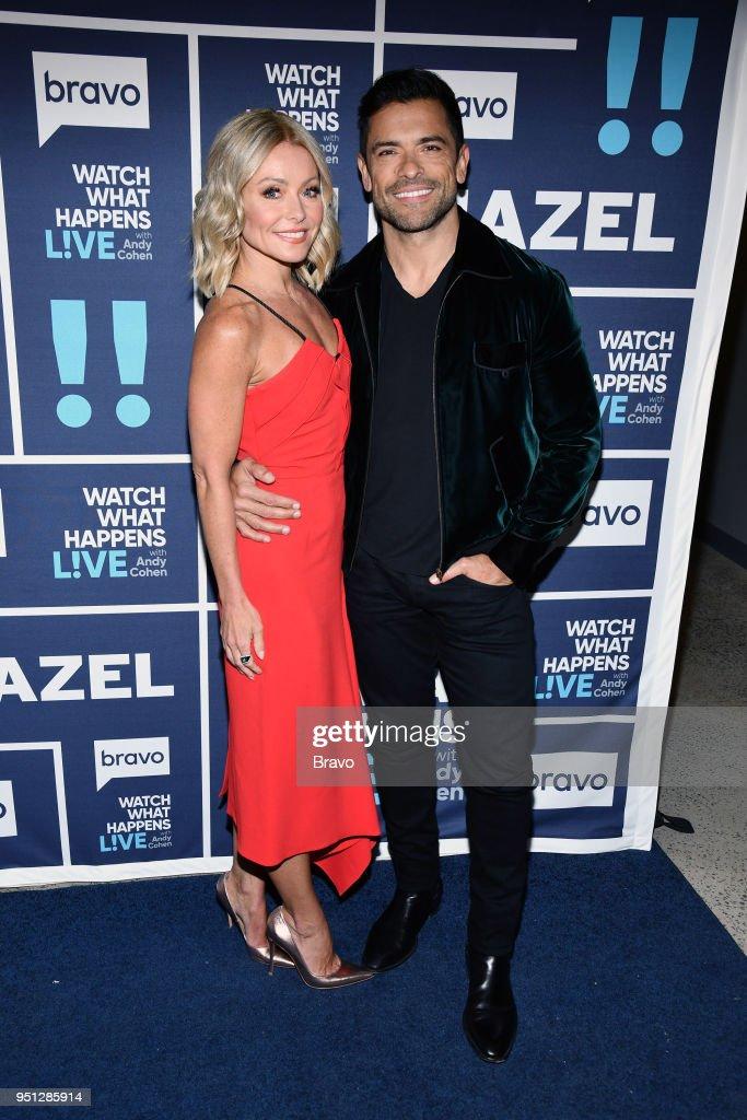 Kelly Ripa and Mark Consuelos --