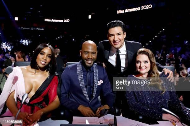 Pictured: Kelly Rowland, Karamo, Mario Lopez, Lauren Ash at Mohegan Sun in Uncasville, CT on Thursday, December 19, 2019 --