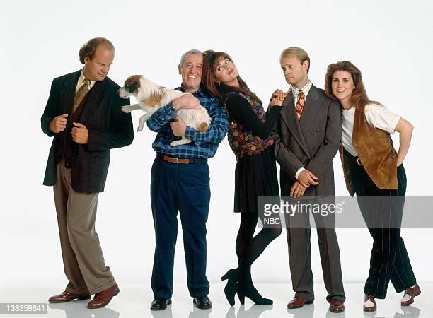 Kelsey Grammer as Dr Frasier Crane Moose as Eddie John Mahoney as Martin Crane Jane Leeves as Daphne Moon David Hyde Pierce as Dr Niles Crane Peri...