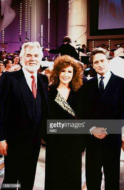 Pictured: Kenny Rogers, Melissa Manchester, Michael Douglas during the From the Heart... The First International Very Special Arts Festival held on...