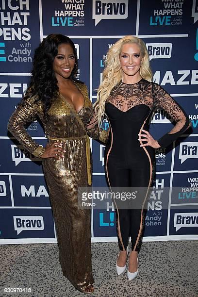Kenya Moore and Erika Jayne