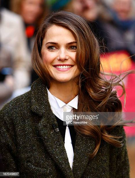 """Keri Russell appears on NBC News' """"Today"""" show --"""