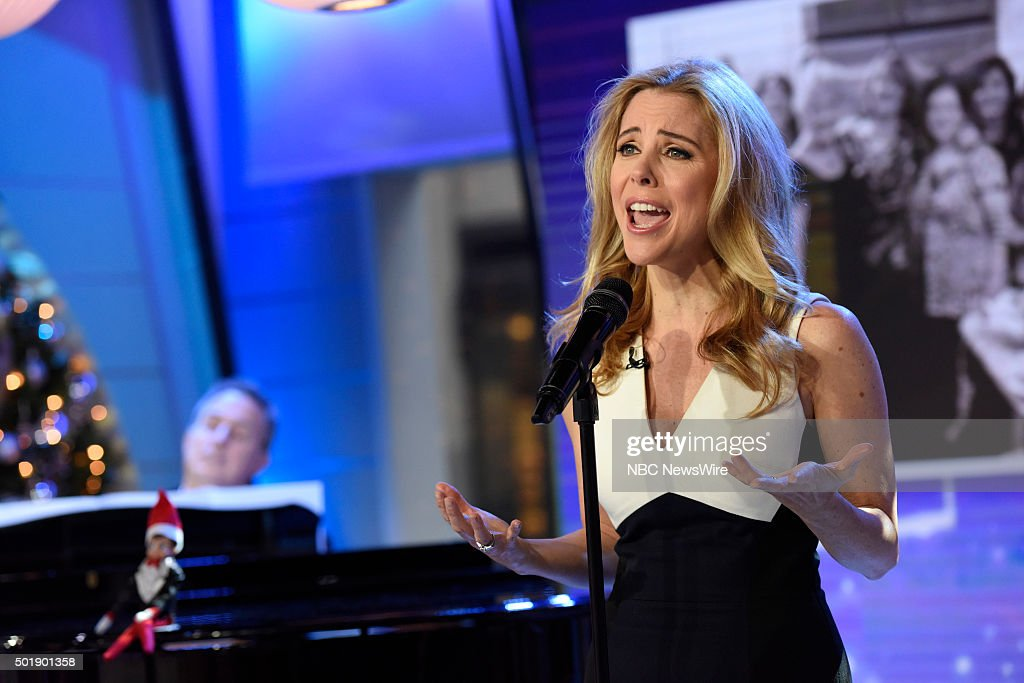 Kerry Butler appears on NBC News' 'Today' show --