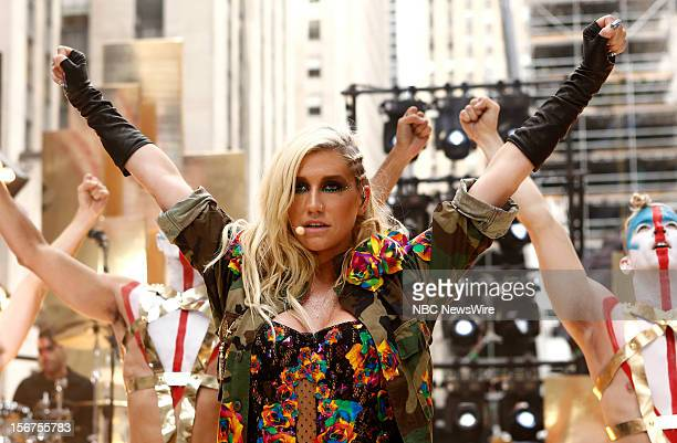 Kesha appears on NBC News' Today show