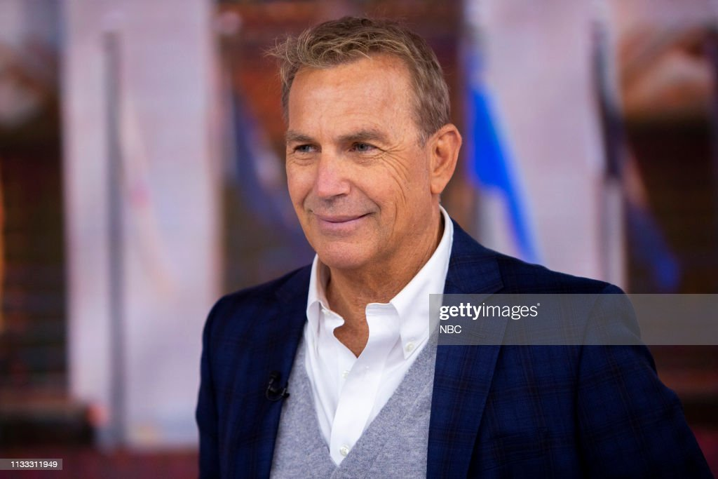 "NY: NBC's ""TODAY"" - Kevin Costner, Sean Evans, Ambush Makeover, Linguine with crab"