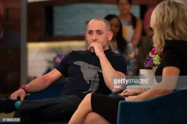 Kevin Hines and Megyn Kelly on Tuesday June 12 2018