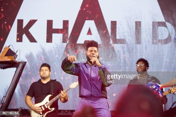 Khalid on Wednesday October 25 2017
