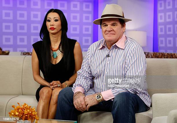 Kiana Kim and Pete Rose appear on NBC News' Today show