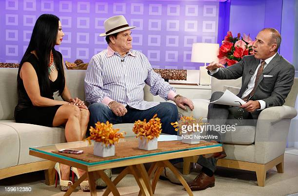 Kiana Kim Pete Rose and Matt Lauer appear on NBC News' Today show