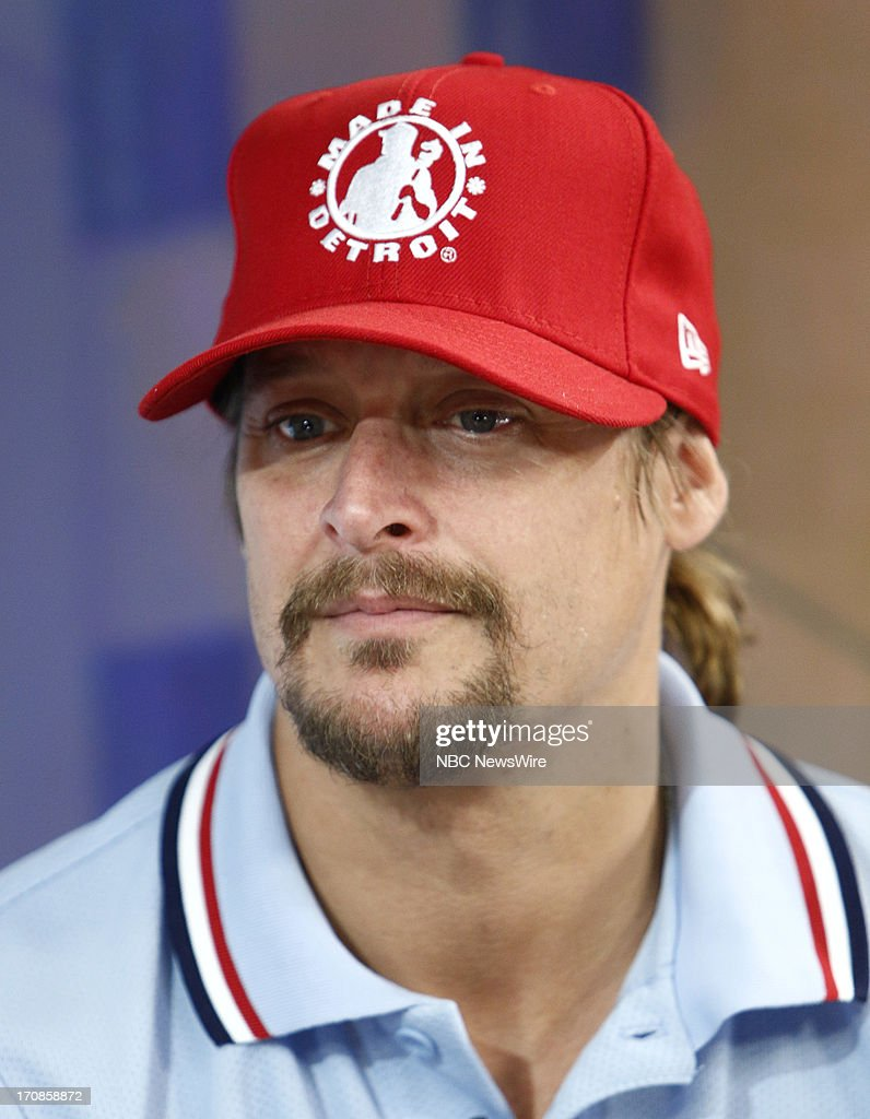 Kid Rock appears on NBC News' 'Today' show --
