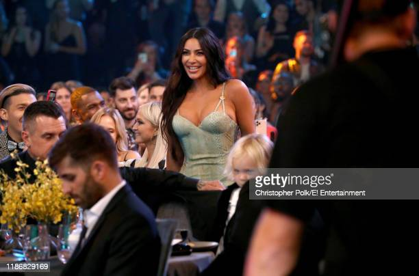 Kim Kardashian West wins The Reality Show of 2019 for 'Keeping Up with the Kardashians' during the 2019 E People's Choice Awards held at the Barker...