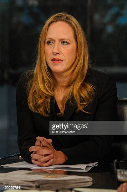 Kimberley Strassel Columnist The Wall Street Journal appears on Meet the Press in Washington DC Sunday July 13 2014