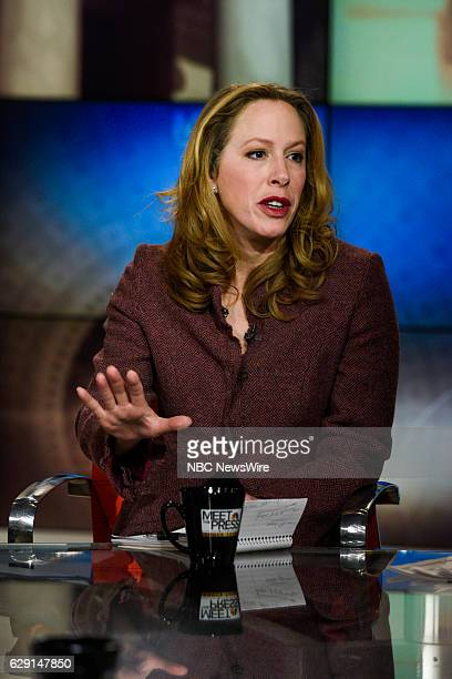 Kimberley Strassel Columnist The Wall Street Journal appears on Meet the Press in Washington DC Sunday Dec 11 2016