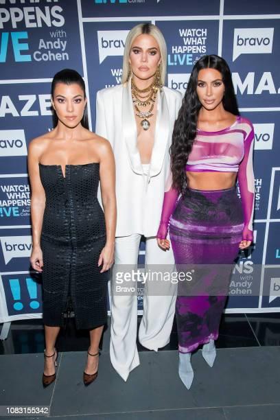 Pictured : Kourtney Kardashian, Khloe Kardashian and Kim Kardashian --
