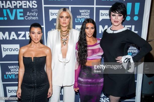 Kourtney Kardashian Khloe Kardashian Kim Kardashian and Morgan McMichaels