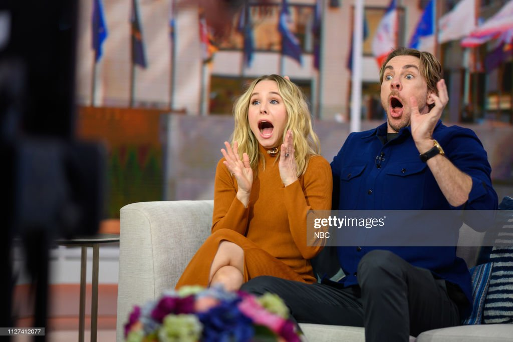 "NY: NBC's ""TODAY"" - Kristen Bell, Dax Shepard, Jennifer Carpenter, Morris Chestnut, Bobbie Thomas, Seamus Mullen, Kendall Bane, Ashley Kimbel, Gloria Steinem"