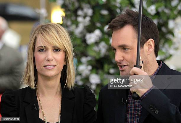 Kristen Wiig and Will Forte appear on NBC News' Today show