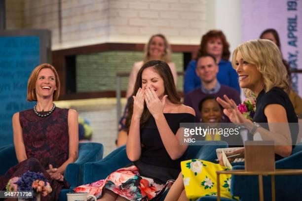 Kristin Ann Ware and Megyn Kelly on Thursday April 19 2018