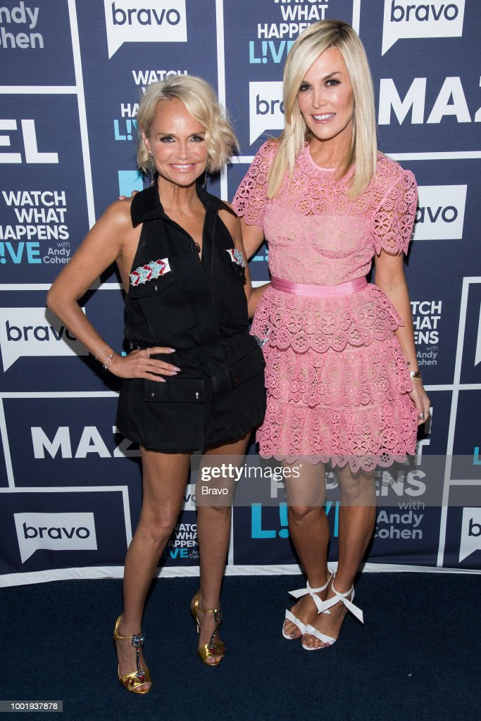 Kristin Chenoweth and Tinsley Mortimer --