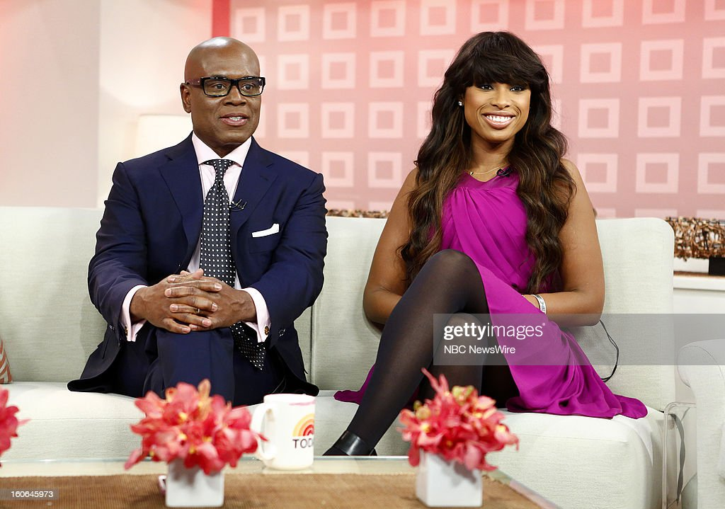 L.A. Reid and Jennifer Hudson appear on NBC News' 'Today' show --