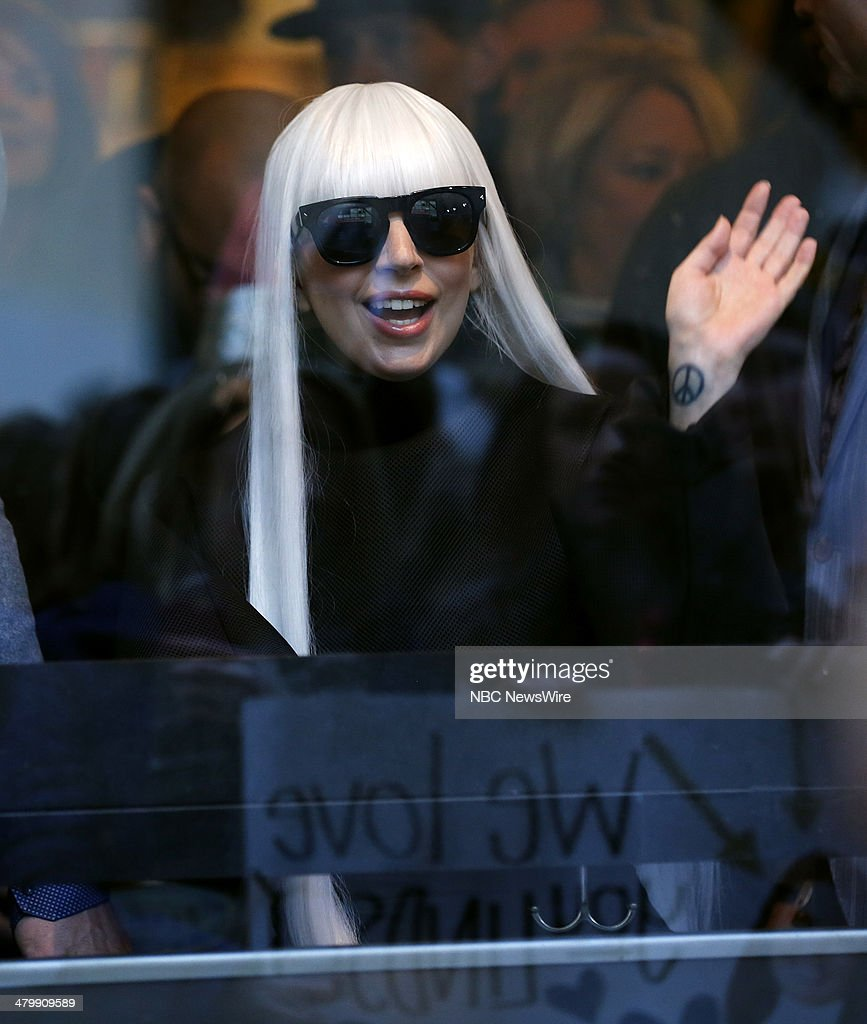 Lady Gaga appears on NBC News' 'Today' show --