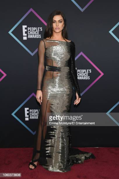 Lala Kent arrives to the 2018 E People's Choice Awards held at the Barker Hangar on November 11 2018 NUP_185068
