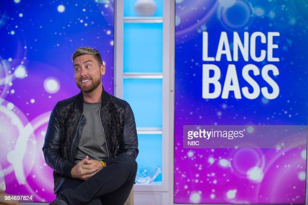 Lance Bass on Monday June 25 2018