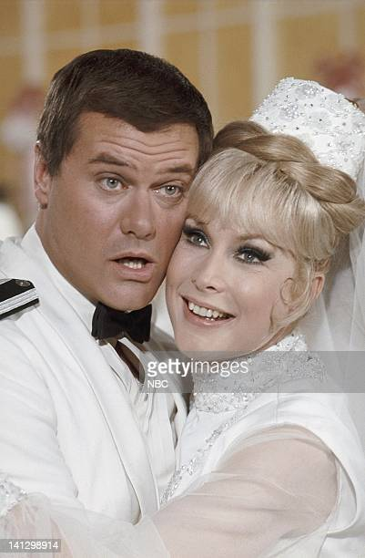 Larry Hagman as Anthony 'Tony' Nelson Barbara Eden as Jeannie Photo by NBCU Photo Bank