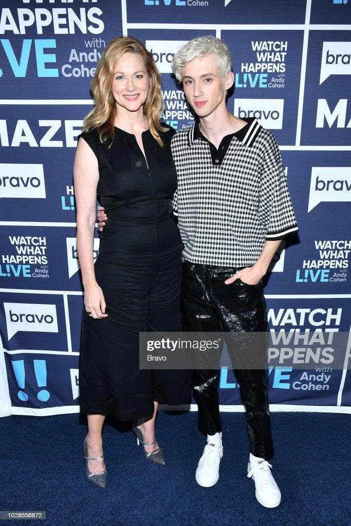 Laura Linney and Troye Sivan --